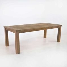 The Rustic reclaimed teak table is able to showcase the beauty of a piece that feels like it has some real history