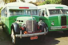 Old bus in Malta: noisy and uncomfortable, but they are great at mechanics in Malts!