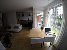 Wnętrza, Mieszkanie w stylu skandynawskim - 3 pokojowe mieszkanie na nowym osiedlu o metrażu 63 m. Mieszkanie składa się z salonu z aneksem kuchennym, oraz dwóch pokoi do których wchodzi...