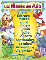 Recursos: Material para el calendario de clase I (calendar, week, day, month educational resources)