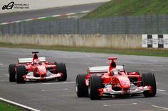 Formula One Ferrari Team.  They rock!