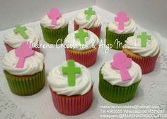 Cupcakes para primera comunión  Makenachocolates@hotmail.com  Tel 4563355 Whatsapp 3017323283