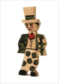Joaquín Torres García - Gángster #TorresGarcía #juguetes antiguos #vintage toys http://MyFamilyBuilders.com