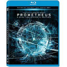 Prometheus (Blu-ray 3D + Blu-ray + DVD + Digital Copy) (Widescreen)