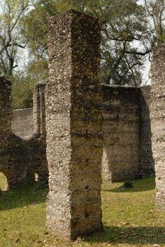 McIntosh Sugar Mill Tabby Ruins | St. Marys, Georgia
