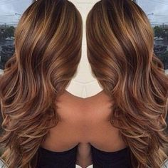 .@b_addtomybeauty   Perfection chocolate brown with a full weave of golden blonde highlights/l...   Webstagram - the best Instagram viewer