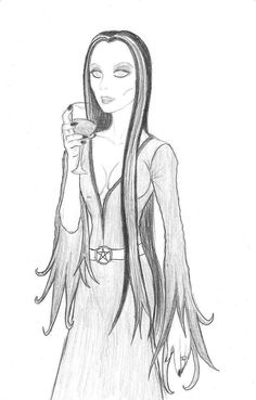 Morticia Addams by ~Underdell on deviantART