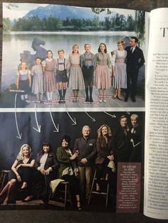 Hollywood Issue of Vanity Fair - March 2015 Photographed by : Art Streiber in Hollywood. #soundofmusic #angelacartwright #thenandnow #classicmusicals #julieandrews #christopherplummer #hollywood