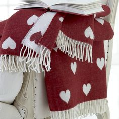 Red Heart Lambswool Throws