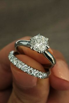 Great Bands And Wedding Rings For Women That Admire ❤ See more: http://www.weddingforward.com/wedding-rings-for-women/ #weddingforward #bride #bridal #wedding