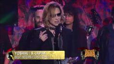 """X Japan Wins Golden GOD """"Best International Band"""" Award"""