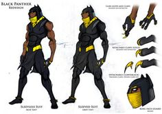 Black panther Redesign page 2  by ~kaseddy