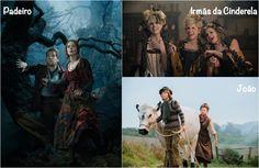 Figurino do filme longa metragem Caminhos da Floresta (Into the Woods), conto de fadas que reúne personagens como Cinderela e Rapunzel.