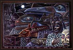 Midnight Ritual, 1983, Ray Troll