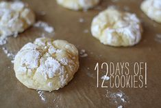Gooey Butter Cookies....yes, yes, yes!