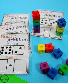 Kindergarten Addition Activity for Kids - So fun!