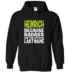 (BadAss) HEINRICH - #superhero hoodie #disney sweatshirt. PURCHASE NOW => https://www.sunfrog.com/Names/BadAss-HEINRICH-qdmwuqbvwf-Black-43754105-Hoodie.html?68278