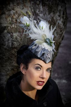 The Icicle Hat by TheSistersBrimm on Etsy, $155.00