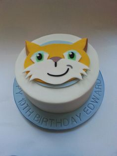 Stampy cat cake