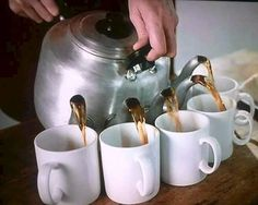 Skip the tea for two. How about five!!  LOL!  Irish tea pot