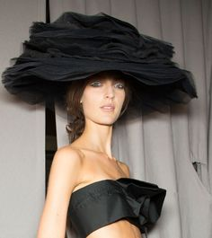 John Galliano Spring 2013 hats by Stephen Jones