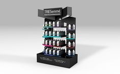 Tresemme Stand unit on Behance