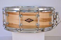 """Craviotto 5.5x14"""" Ambrosia Maple 10th Anniversary Snare Drum #7"""