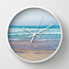 Beach clock x