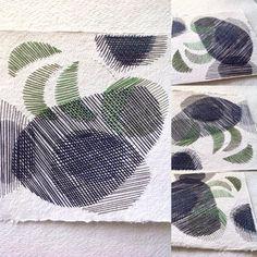 paper embroidery Karin Lundström