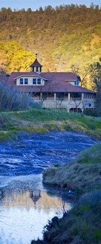 Wilbur Hot Springs in Northern California