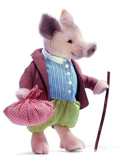 Steiff EAN 653513 Beatrix Potter Pigling Bland  UK Exclusive      Limited Edition of just 1,500 pieces      Estimated Delivery: NOW AVAILABLE!!  Price: €210
