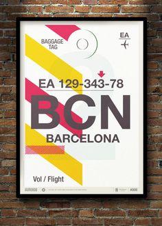Flight Tag Prints by Neil Stevens » ISO50 Blog – The Blog of Scott Hansen (Tycho / ISO50)