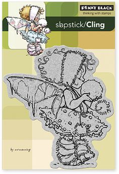 Winter Fairy - Cling Rubber Stamp