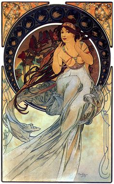 PHILOSOPHICAL MIND ART: THOUGHTS ON ALFONS MUCHA AND ART NOUVEAU