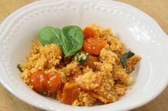 Sekundentakt: Couscous mit Pesto und Tomaten,  Ruck Zuck Rezept