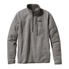 Patagonia Men's Better Sweater 1/4-Zip Fleece Pullover. $99.00