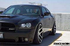 Stanced Charger SRT8