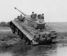 Tiger I of the 2.Zug. 3.Kompanie sPzAbt 503 photographed weeks before the operation Zitadell (battle of Kursk). During those weeks, their crews took to train. The vehicle's image has removed the shields of the removed filters.