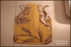 Restoring the Roost: sewing a chicken saddle