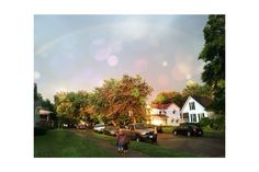 Photoshop filter, but the rainbow is real