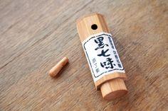 """Hararyoukaku """"黒七味""""."""