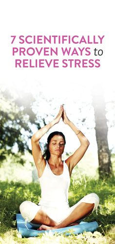 how to relieve stress #health