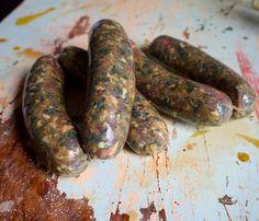 """Hammer Head"" Swiss Chard and Roasted Garlic Sausage"