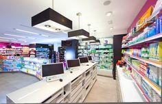 Pharmacy Design | Retail Design | Store Design | Pharmacy Shelving | Pharmacy Furniture | Farmacia Rioboo - Ipharma - A Coruña