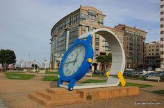 El reloj de pulsera de As Lagoas (A Coruña)