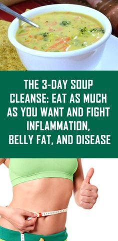 The 3-Day Soup Cleanse - Eat As Much As You Want And Fight Inflammation, Belly Fat, And Disease