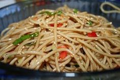 So simple to make and so tasty! Noodle salad recipe