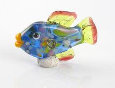 Fiesta Fish, Lampwork Bead by SRA Babs Beads & Design