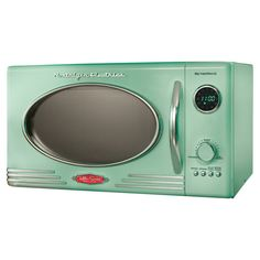 Retro Microwave in Green - nostalgic appliances at jossandmain.com
