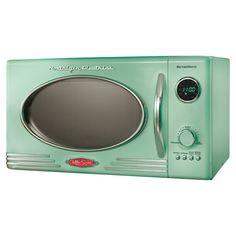 Retro Microwave in Green - nostalgic appliances at jossandmain.com